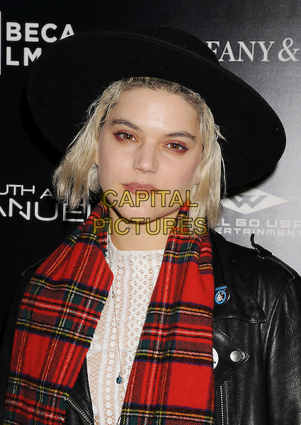 HOLLYWOOD, CA- DECEMBER 04: Soko at the 'The Truth About Emanuel' - Los Angeles Premiere - Arrivals at ArcLight Hollywood on December 4, 2013 in Hollywood, California.<br /> CAP/ROT/TM<br /> &copy;Tony Michaels/Roth Stock/Capital Pictures