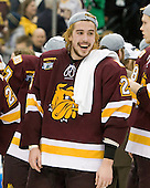 Justin Faulk (Duluth - 25) - The University of Minnesota-Duluth Bulldogs celebrated their 2011 D1 National Championship win on Saturday, April 9, 2011, at the Xcel Energy Center in St. Paul, Minnesota.