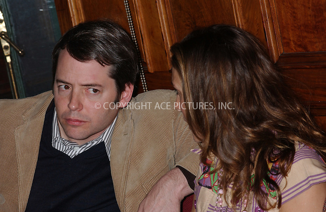 WWW.ACEPIXS.COM . . . . . ....NEW YORK, NOVEMBER 18, 2004....Matthew Broderick and Sarah Jessica Parker at Jury Appreciation Day at Centre Street Court House..... Please byline: ACE006 - ACE PICTURES.. . . . . . ..Ace Pictures, Inc:  ..Alecsey Boldeskul (646) 267-6913 ..Philip Vaughan (646) 769-0430..e-mail: info@acepixs.com..web: http://www.acepixs.com