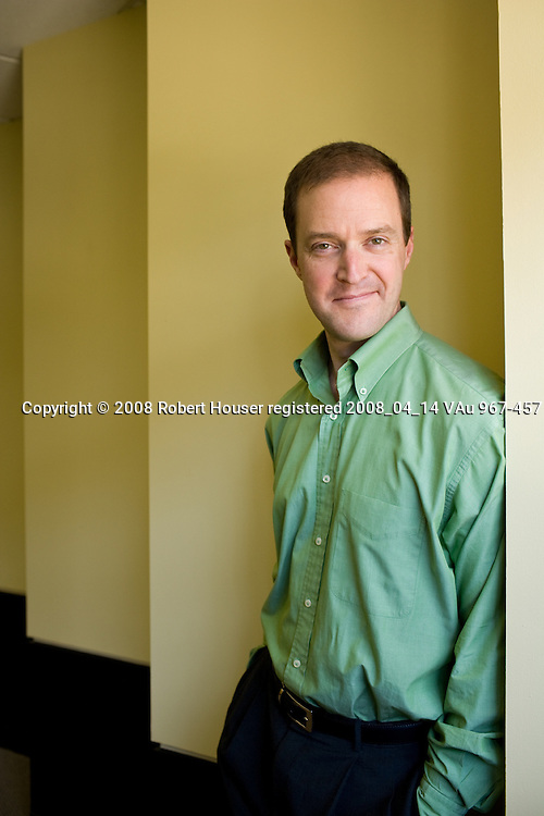 : Matthew Todd,Ph.D.-CISO-Financial Engines-Executive portrait photographs by San Francisco - corporate and annual report - photographer Robert Houser.
