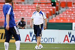 05 May 2010: Kansas City assistant coach Zoran Savic (SRB). DC United defeated the Kansas City Wizards 2-1 at RFK Stadium in Washington, DC in a regular season Major League Soccer game.