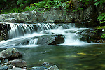 A series of small cascades above Char Falls in the Kaniksu National Forest, Bonner County, Idaho, USA