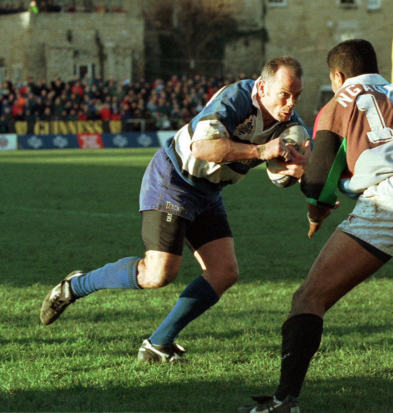 Photo: Ken Brown.28.2.98  Bath v Harlequins.Ieuan Evans