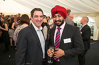 Paul Bevan of Mazars (left) and Charanjeet Landa of Baker Tilly Tax & Accounting