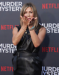 "Jennifer Aniston 066 arrives at the LA Premiere Of Netflix's ""Murder Mystery"" at Regency Village Theatre on June 10, 2019 in Westwood, California"
