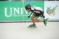 INLINE-SKATEN: HEERDE: Skeeler- en Skatecentrum Hoornscheveen, Europa Cup/Univé Skate Off, 05-05-2012, Park Bong KOR (#32 | Junior A), ©foto Martin de Jong