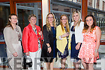 "Mary Griffin,Bridie Lucid, Mary Scanlon, Amy Lucid, Emma O'Connor and Rachel O'Sullivan at the ""Fashion Fusion"" in aid of Duggan Family House fire Appeal in the Fels Point Hotel on Saturday"