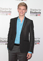 UNIVERSAL CITY, CA - JULY 22: Kenton Duty at the 2012 Staples For Students 'Party' For A Cause hosted by Staples, DoSomething.org and Bella Thorne at the Globe Theatre at Universal Studios on July 22, 2012 in Universal City, California © mpi21/MediaPunch Inc. /NortePhoto.com*<br />