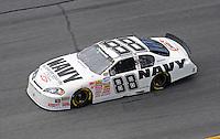 Jul. 3, 2008; Daytona Beach, FL, USA; Nascar Nationwide Series driver Brad Keselowski during practice for the Winn-Dixie 250 at Daytona International Speedway. Mandatory Credit: Mark J. Rebilas-