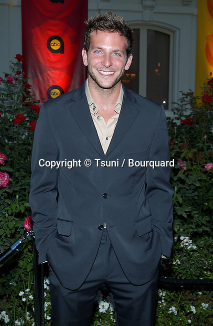 """Bradley Cooper (Alias) arriving at the party for the """"2002 ABC Summer Press Tour All-Star"""" at the Tournament House in Pasadena, Los Angeles. July 18, 2002.           -            CooperBradley_Alias02.jpg"""