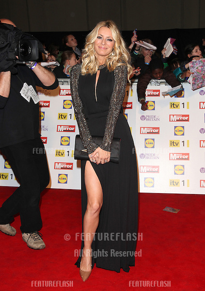 Tess Daly arriving for the 2012 Pride of Britain Awards, at the Grosvenor House Hotel, London. 29/10/2012 Picture by: Alexandra Glen / Featureflash