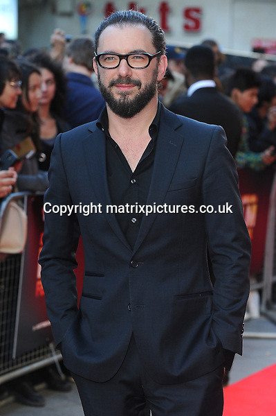 NON EXCLUSIVE PICTURE: PAUL TREADWAY / MATRIXPICTURES.CO.UK<br /> PLEASE CREDIT ALL USES<br /> <br /> WORLD RIGHTS<br /> <br /> Belgian film director Michael Roskam attends The 58th BFI London Film Festival Premiere of The Drop, Odeon Leicester Square, London.<br /> <br /> OCTOBER 11th 2014<br /> <br /> REF: PTY 144379