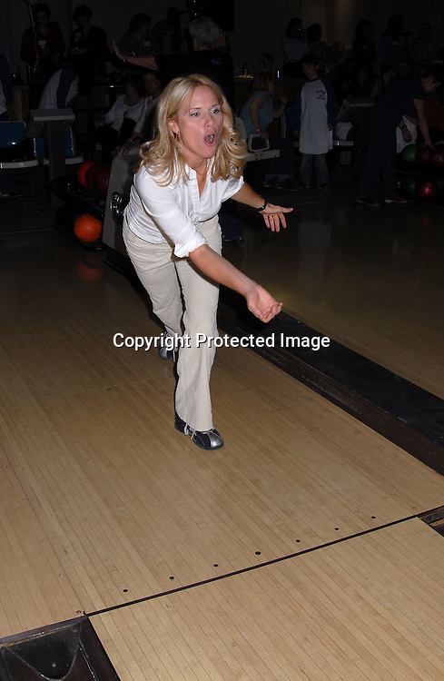 """Beth Chamberlin ..at The """"Daytime Stars and Strikes"""" Bowling event on ..October 15, 2006 at The Leisure Time Bowling Center..at The Port Authority which benefitted The American Cancer Society. ..Robin Platzer, Twin Images"""
