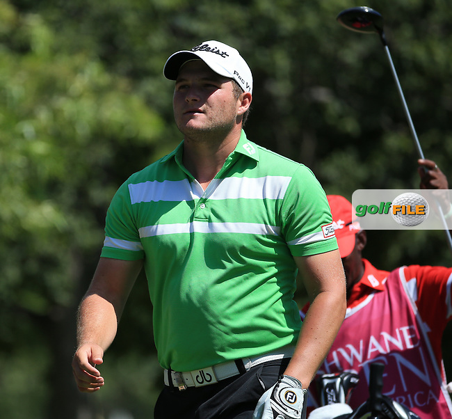 Zander Lombard (RSA) put himself in contention with a 63 during Round Three of the 2016 Tshwane Open, played at the Pretoria Country Club, Waterkloof, Pretoria, South Africa.  13/02/2016. Picture: Golffile | David Lloyd<br /> <br /> All photos usage must carry mandatory copyright credit (&copy; Golffile | David Lloyd)