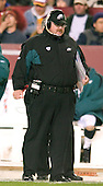Philadelphia Eagles head coach Andy Reid prowls the sidelaine during the game against the Washington Redskins in Landover, Maryland on December 12, 2004.  The Eagles won the game 17 - 14..Credit: Ron Sachs / CNP