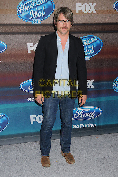 11 March 2015 - West Hollywood, California - Zachary Knighton. American Idol Season 14 Finalists Party held at The District. <br /> CAP/ADM/BP<br /> &copy;BP/ADM/Capital Pictures