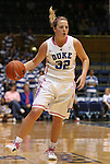 15 February 2012: Duke's Tricia Liston. The Duke University Blue Devils defeated the Virginia Tech Hokies 67-45 at Cameron Indoor Stadium in Durham, North Carolina in an NCAA Division I Women's basketball game.