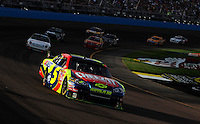 Nov. 9, 2008; Avondale, AZ, USA; NASCAR Sprint Cup Series driver Casey Mears during the Checker Auto Parts 500 at Phoenix International Raceway. Mandatory Credit: Mark J. Rebilas-
