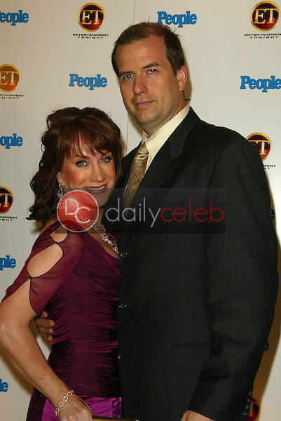 Kathy Griffin and husband Matthew<br />