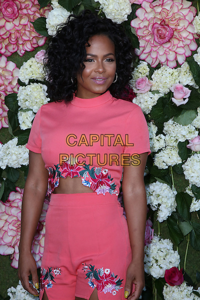 BEVERLY HILLS, CA - JULY 7: Christina Milian at the PrettyLittleThing.com Pretty Little Thing's #PLTxUSA Launch US Launch Party at a Private Location in Beverly Hills, California on July 7, 2016. <br /> CAP/MPI/DE<br /> &copy;DE/MPI/Capital Pictures