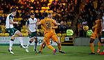 29.03.2019 Livingston v Hibs: Paul Hanlon scores for Hibs