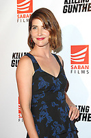 LOS ANGELES - OCT 14: Cobie Smulders at the premiere of Saban Films' 'Killing Gunther' at the TCL Chinese Theatres on October 14, 2017 in Los Angeles, CA