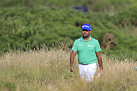 Anirban Lahiri (IND) walks to the 14th green during Thursday's Round 1 of the 145th Open Championship held at Royal Troon Golf Club, Troon, Ayreshire, Scotland. 14th July 2016.<br /> Picture: Eoin Clarke | Golffile<br /> <br /> <br /> All photos usage must carry mandatory copyright credit (&copy; Golffile | Eoin Clarke)