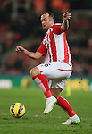 Charlie Adams of Stoke City - Barclays Premier League - Stoke City vs Manchester City - Britannia Stadium - Stoke on Trent - England - 11th February 2015 - Picture Simon Bellis/Sportimage