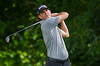 Brendan Steele (USA) watches his tee shot on 6 during round 2 of the 2019 Charles Schwab Challenge, Colonial Country Club, Ft. Worth, Texas,  USA. 5/24/2019.<br /> Picture: Golffile   Ken Murray<br /> <br /> All photo usage must carry mandatory copyright credit (© Golffile   Ken Murray)