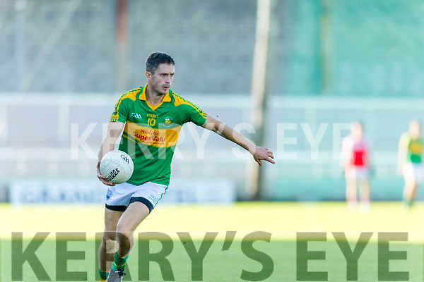 Padraig King South Kerry in action against  Dingle in the Quarter Finals of the Kerry County Football Championship at Austin Stack Park on Saturday.