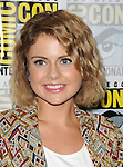 Rose McIver arriving at the iZombie Panel at Comic-Con 2014 The Hilton Bayfront Hotel in San Diego, Ca. July 25, 2014.