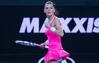 AGNIESZKA RADWANSKA (POL)<br /> <br /> TENNIS - GRAND SLAM ITF / ATP  / WTA - Australian Open -  Melbourne Park - Melbourne - Victoria - Australia  - 22 January 2016<br /> <br /> &copy; AMN IMAGES