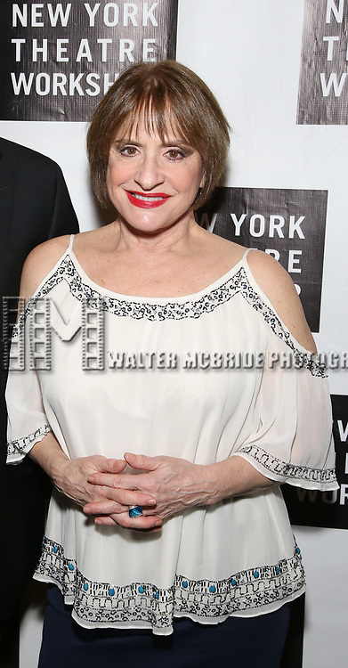 Patti LuPone attend New York Theatre Workshop's 2017 Spring Gala at the Edison Ballroom on May 15, 2017 in New York City.