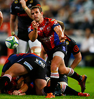 Nic Groom of the Emirates Lions during the Super rugby match between the Cell C Sharks and the Emirates Lions at Jonsson Kings Park Stadium in Durban, South Africa 30 March 2019. Photo: Steve Haag / stevehaagsports.com