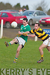 St Brendans v Avondhu in their Duhallow Invitation Cup semi-final on Saturday.