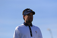 Bubba Watson (Team USA) on the 11th tee during Saturday Foursomes at the Ryder Cup, Le Golf National, Ile-de-France, France. 29/09/2018.<br /> Picture Thos Caffrey / Golffile.ie<br /> <br /> All photo usage must carry mandatory copyright credit (&copy; Golffile | Thos Caffrey)