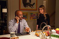 Courtney B. Vance & Kathryn Newton<br /> Ben Is Back (2018) <br /> *Filmstill - Editorial Use Only*<br /> CAP/RFS<br /> Image supplied by Capital Pictures