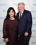 """Charlotte St. Martin and Robert Wankel during The """"Mr. Abbott"""" Award 2019 at The Metropolitan Club on 3/25/2019 in New York City."""