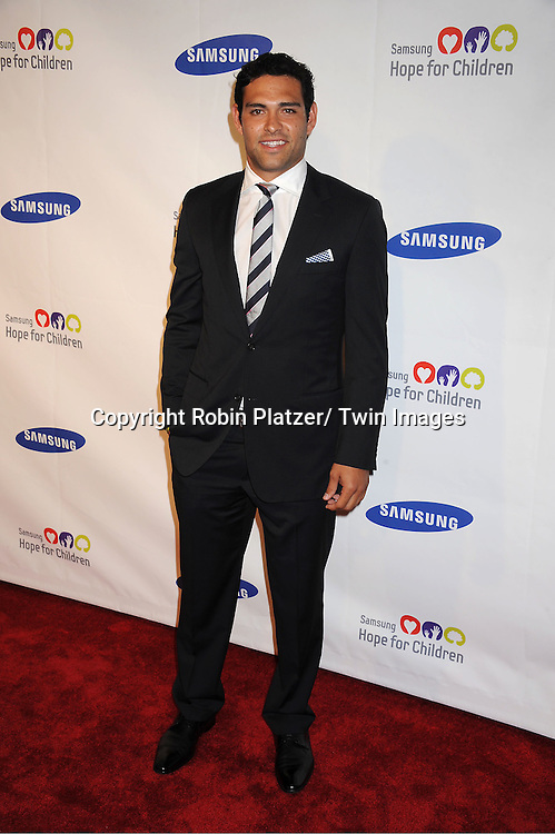 Mark Sanchez attending the Samsung Hope For Children Gala at Cipriani .Wall Street on June 7, 2011 in New York City.