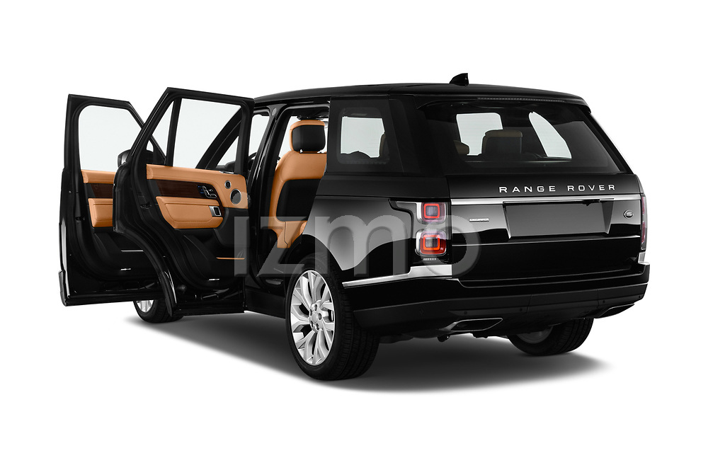 Car images close up view of a 2018 Land Rover Range Rover Autobiography 5 Door SUV doors
