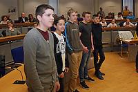Tischtennismannschaft des SV Alemannia Königstädten