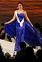 """Miss Canada Kesiah Papasin, November 11, 2014, Tokyo, Japan : Miss Canada Kesiah Papasin walks down the runway during """"The 54th Miss International Beauty Pageant 2014"""" on November 11, 2014 in Tokyo, Japan. The pageant brings women from more than 65 countries and regions to Japan to become new """"Beauty goodwill ambassadors"""" and also donates money to underprivileged children around the world thought their """"Mis International Fund"""". (Photo by Rodrigo Reyes Marin/AFLO)"""