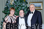 Breda, Timmy Dan and Tim O'Sullivan at the Kerry Stars ball in the Malton Hotel on Saturday night