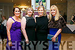 Enjoying  The Midsummer's Ball in aid of the Palliative Care Unit at the Rose Hotel on Friday were Eileen Diggins, Julie O Sullivan, Andrea O'Donoghue and Maureen Fleming