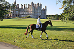 Allison Springer riding Arthur IV at the 2012 Land Rover Burghley Horse Trials in Stamford, Lincolnshire,UK.