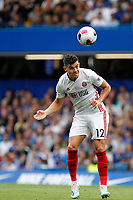 Enda Stevens of Sheffield United in action during the Premier League match between Chelsea and Sheff United at Stamford Bridge, London, England on 31 August 2019. Photo by Carlton Myrie / PRiME Media Images.