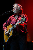 HOLLYWOOD FL - JULY 5 : Don Mclean performs at Hard Rock Live held at the Seminole Hard Rock Hotel & Casino on July 5, 2012 in Hollywood, Florida. © mpi04 / Media Punch Inc. *NORTEPHOTO.COM*<br />