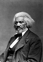 Frederick Douglass, ca. 1879.  George K. Warren. (National Archives Gift Collection)<br /> Exact Date Shot Unknown<br /> NARA FILE #:  200-FL-22<br /> WAR & CONFLICT BOOK #:  113