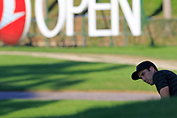Ross Fisher (ENG) putts onto the 17th green during Thursday's Round 1 of the 2018 Turkish Airlines Open hosted by Regnum Carya Golf &amp; Spa Resort, Antalya, Turkey. 1st November 2018.<br /> Picture: Eoin Clarke | Golffile<br /> <br /> <br /> All photos usage must carry mandatory copyright credit (&copy; Golffile | Eoin Clarke)