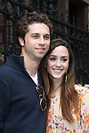 Christina Bennett Lind and boyfriend Gene Gallerano at All My Children's Good Night Pine Valley was held on September 17, 2011 at Prohibition, New York City, New York.  (Photo by Sue Coflin/Max Photos)